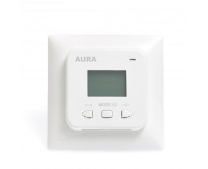AURA LTC 530 WHITE - электронный терморегулятор для теплого пола