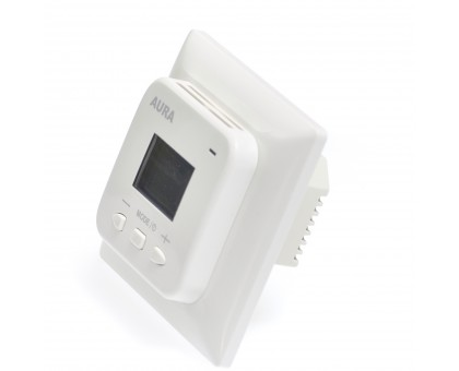 AURA LTC 440 WHITE - двухзонный терморегулятор для теплого пола
