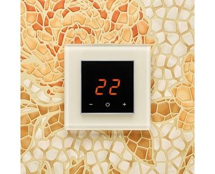 AURA ORTO 1013 WHITE PEARL - терморегулятор с сенсорным экраном