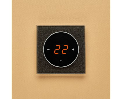 AURA TAKTO 0337 BLACK STARLIGHT - терморегулятор с сенсорным экраном