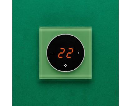 AURA TAKTO 1164 GREEN LUMINOUS - терморегулятор с сенсорным экраном