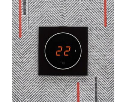 AURA TAKTO 9005 BLACK CLASSIC - терморегулятор с сенсорным экраном