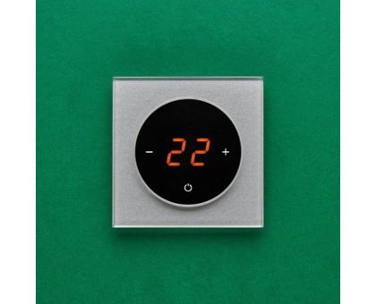 AURA TAKTO 9007 ALUMINIUM RICH - терморегулятор с сенсорным экраном
